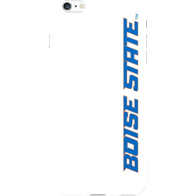 OTM iPhone 6 Plus White Glossy Classic Case Boise State University IPH6PCV1WG-BSU2