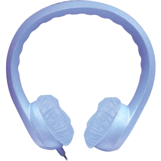 Hamilton Buhl Flex Phones Foam Headphones 3.5mm Plug Blue KIDS-BLU