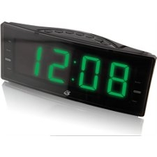 GPX Clock Radio with Dual Alarm C353B