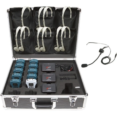 Califone 10 Person Tour Group System WS-TG10