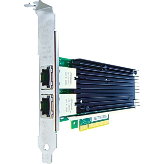 Axiom PCIe x8 10Gbs Dual Port Copper Network Adapter for Intel X540T2-AX