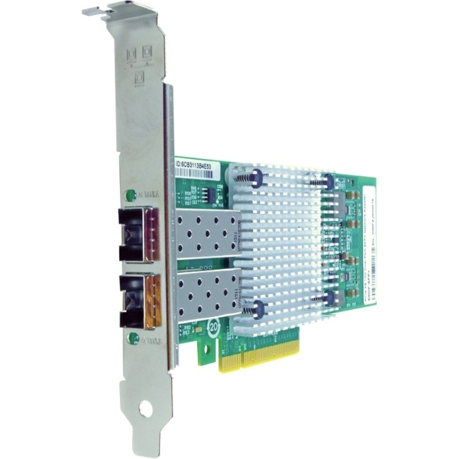 Axiom PCIe x8 10Gbs Dual Port Fiber Network Adapter for Solarflare SFN5122F-AX