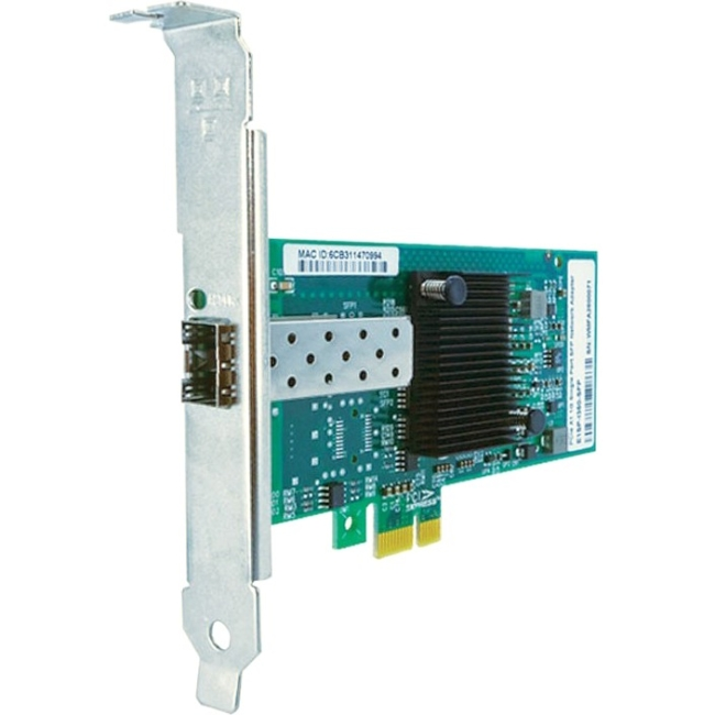 Axiom PCIe x1 1Gbs Single Port Fiber Network Adapter PCIE-1SFP-X1-AX