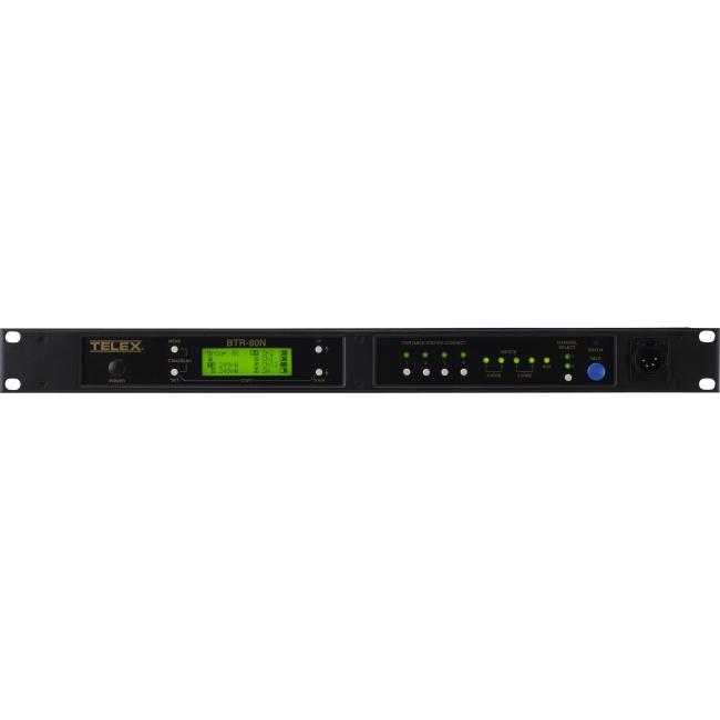 Telex Narrow Band 2-Channel UHF Synthesized Wireless Intercom System BTR-80N-H2 BTR-80N