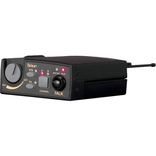 Telex UHF Two-Channel Wireless Beltpack TR-800-F3 TR-800