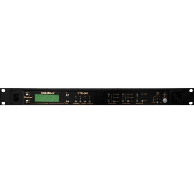 RTS Two-Channel UHF Synthesized Wireless Intercom Base Station BTR-800-H3R5 BTR-800