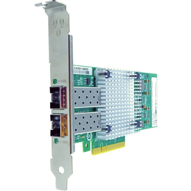 Axiom PCIe x8 10Gbs Dual Port Fiber Network Adapter for Intel E10G42BTDA-AX