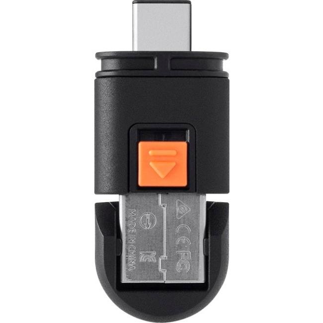 Monoprice Dual Mode USB-C MicroSD Reader 13506