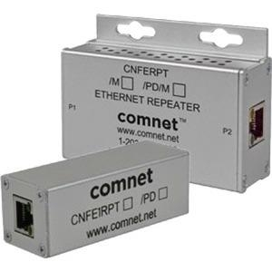 ComNet 10/100 Mbps Ethernet Repeater With 60 W Pass-Through PoE CNFE1RPT/M