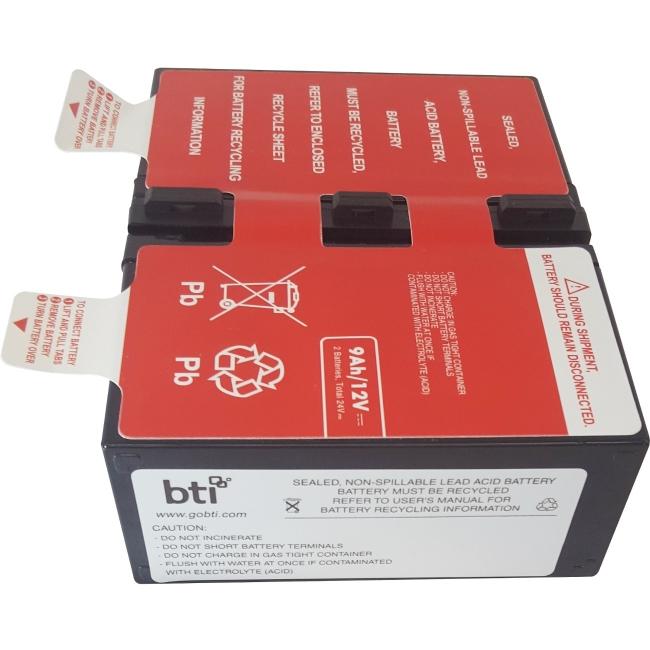 BTI UPS Battery Pack APCRBC124-SLA124