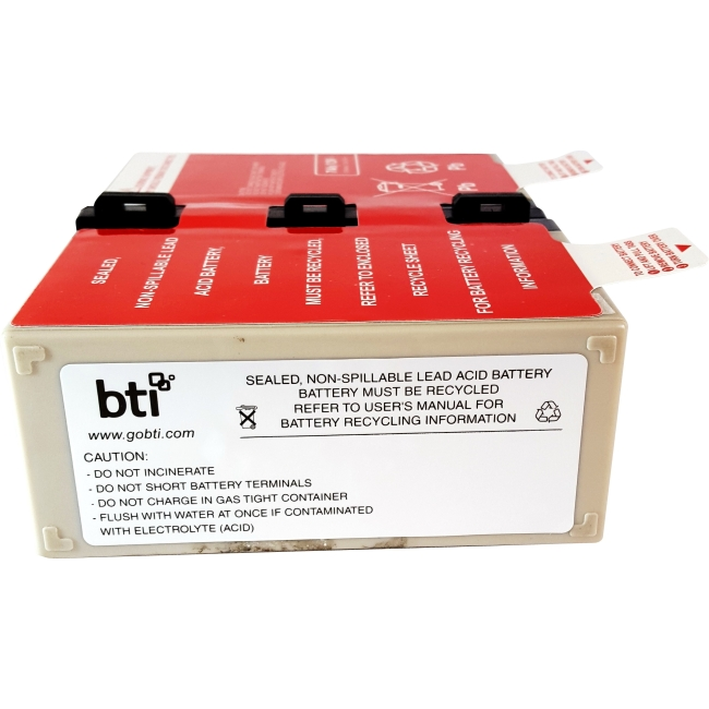 BTI UPS Battery Pack APCRBC123-SLA123
