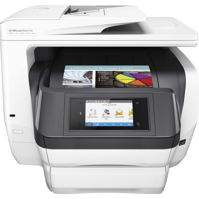 HP OfficeJet Pro All-in-One Printer K7S42A#B1H 8740