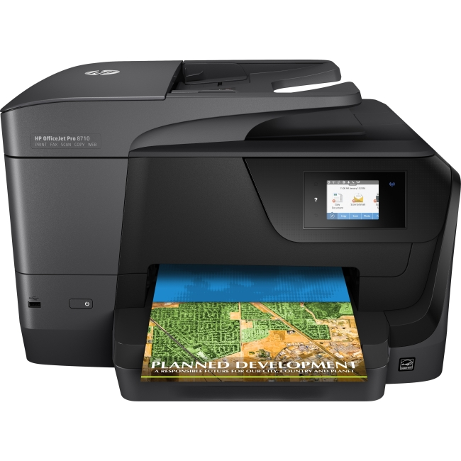 HP OfficeJet Pro All-in-One Printer M9L66A#B1H 8710