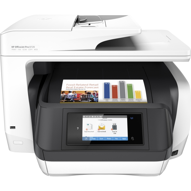 HP OfficeJet Pro All-in-One Printer M9L75A#B1H 8720
