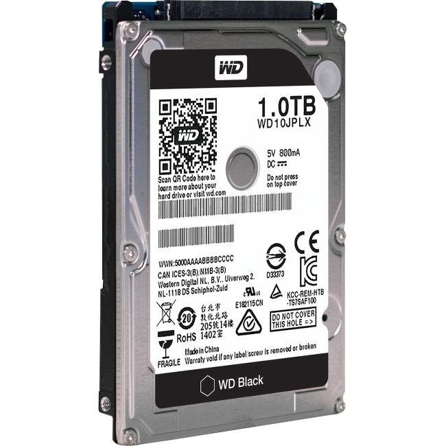 Western Digital Black 1TB 2.5-inch Performance Hard Drive WD10JPLX