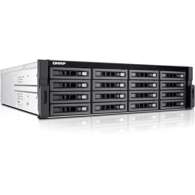 QNAP 16-bay High Performance Unified Storage with Built-in 10GbE TS-EC1680U-E3-4GE-R2