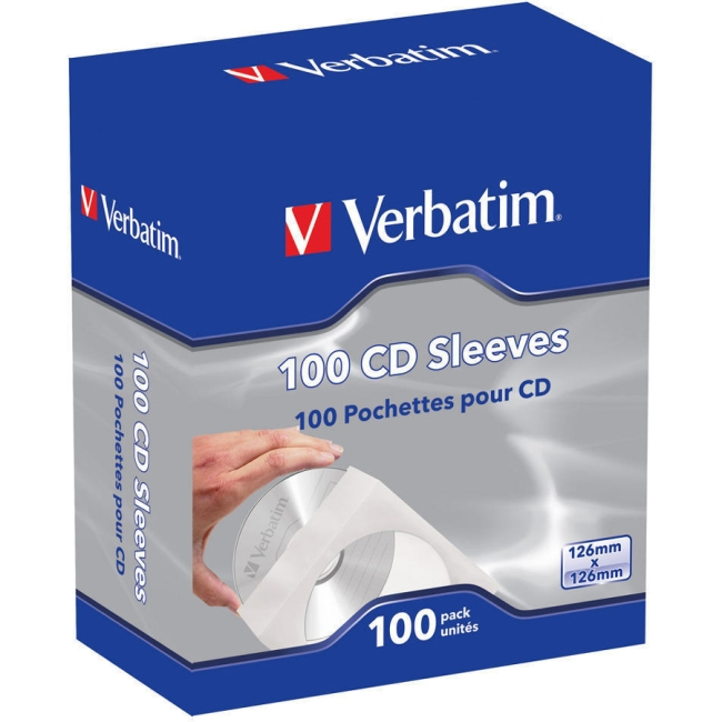 Verbatim CD/DVD Sleeve 49976