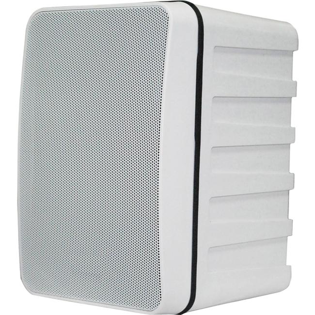 "SP Controls 5.25"" 2-way Bookshelf Speaker Pair SP-BS5IN-W"