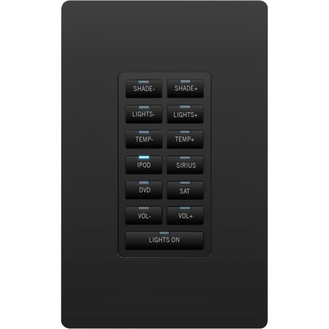 AMX Metreau 13-Button Ethernet Keypad FG5793-02-BL MET-13E