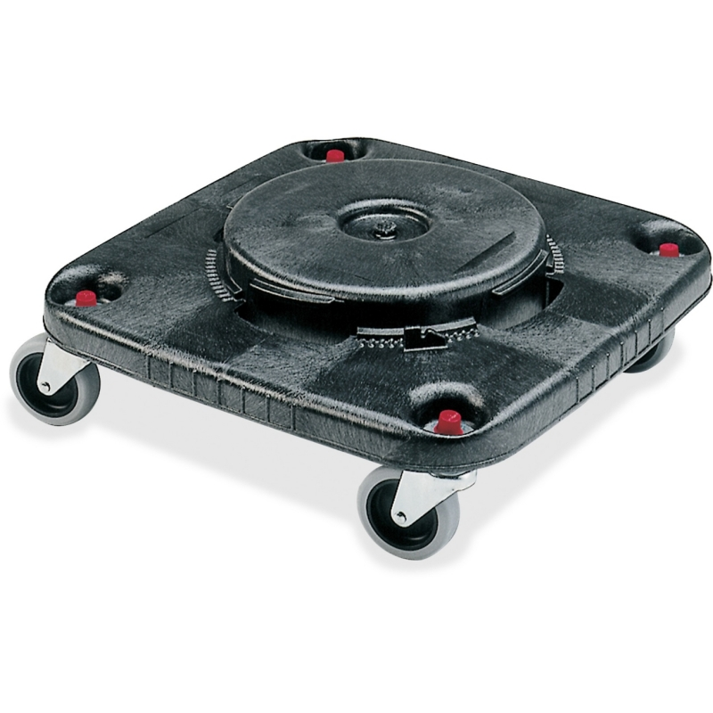 Rubbermaid Commercial Brute Square Container Dolly 353000BK RCP353000BK