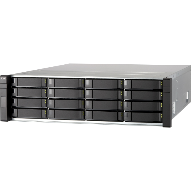 QNAP High-performance, Dual-controller 6 Gbps SAS RAID Expansion Enclosure EJ1600US EJ1600
