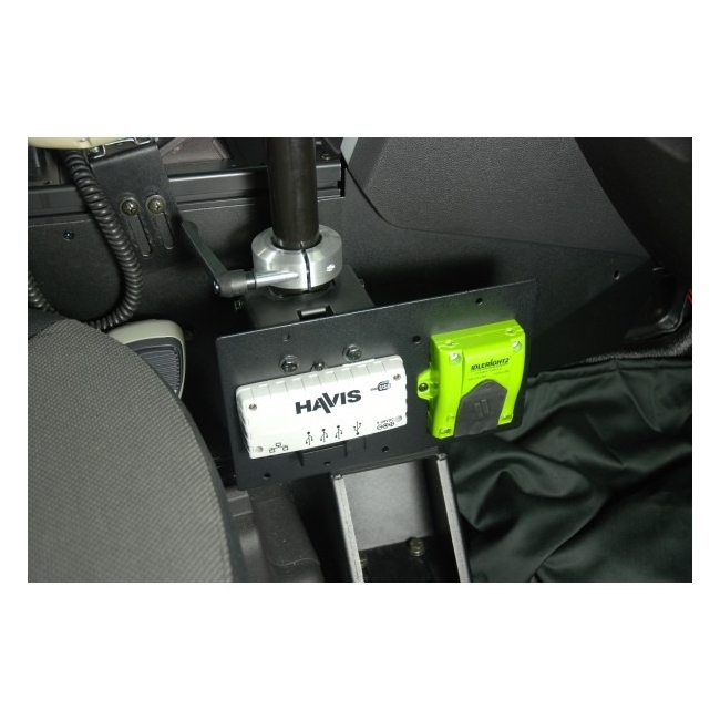 Havis Heavy Duty Pole Clamp Mounting Bracket with Universal Mounting Surface C-HDM-420