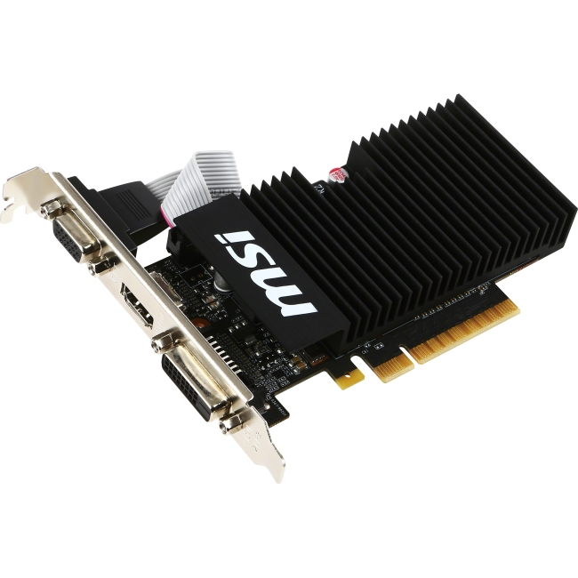 MSI NVIDIA GeForce GT 710 Graphic Card GT 710 1GD3H LPV1