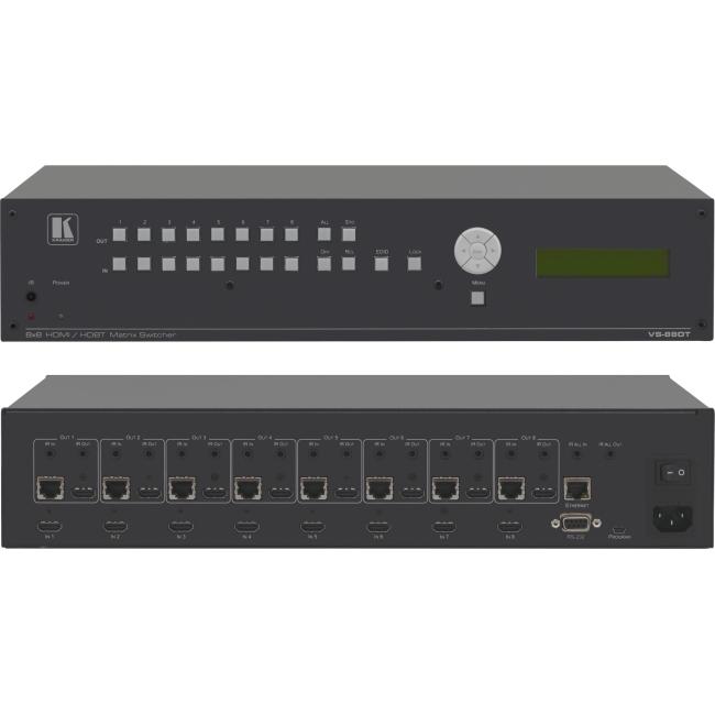 Kramer 8x8 HDMI to HDMI or HDBaseT Matrix Switcher VS-88DT