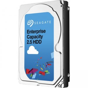 Seagate Enterprise Capacity 2.5 HDD 12GB/s SAS 512E 2TB Hard Drive With SED ST2000NX0343-40PK ST2000NX0343