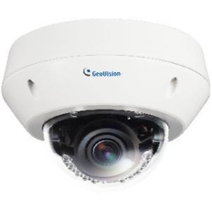 GeoVision 2MP H.264 Super Low Lux WDR IR Vandal Proof IP Dome 84-EVD2100-0010 GV-EVD2100