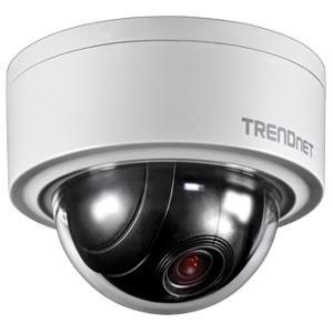 TRENDnet Indoor / Outdoor 3 MP Motorized PTZ Dome Network Camera TV-IP420P