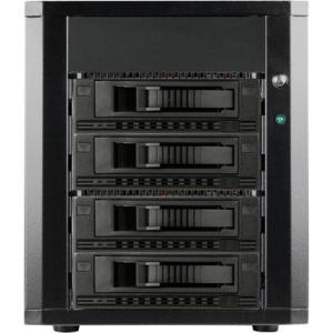 RAIDage 4-bay SATA 6.0 Gb/s eSATA Hotswap JBOD Enclosure 250W PSU DAGE440M1BK-ES