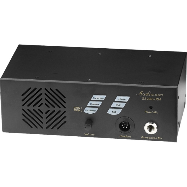RTS RM Dual-Channel Rackmount Speaker Station SS-2002RM SS-2002