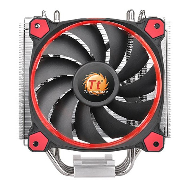 Thermaltake Riing Silent 12 Red CPU Cooler CL-P022-AL12RE-A