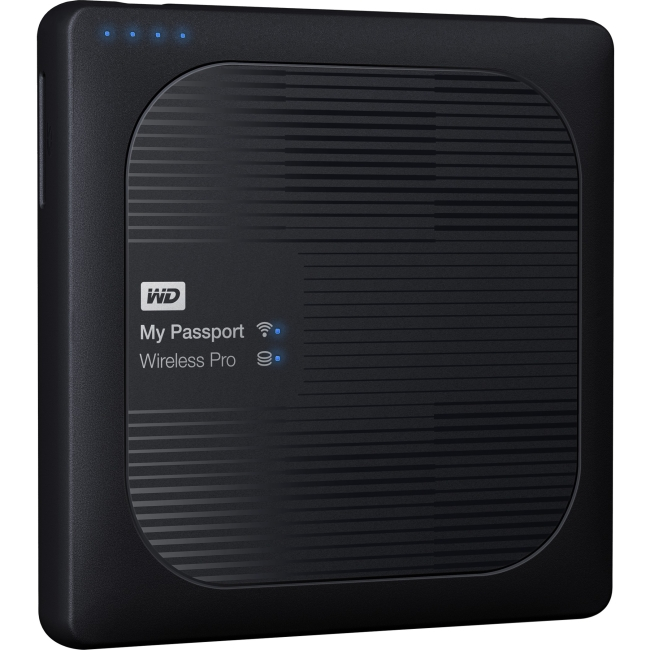 Western Digital 3TB My Passport Wireless Pro WDBSMT0030BBK-NESN WDBP2P0020BBK