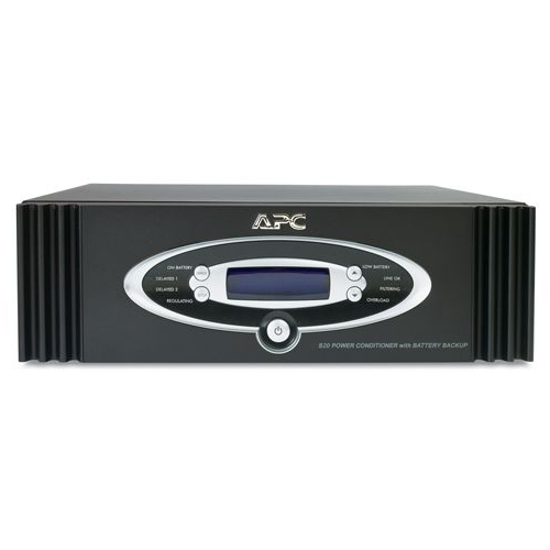 APC Network Manageable 1.25kW S Type Power Conditioner with Battery Backup S20BLK