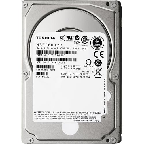 Toshiba Hard Drive MBF2600RC