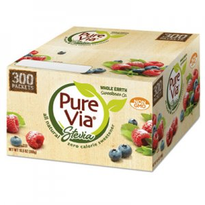 Pure Via Zero Calorie Sweetener, 300/Box EQL00105 20021213