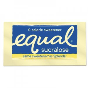 Equal Zero Calorie Sweetener, 0.035 oz Packet, 500/Box EQL90084 20014278
