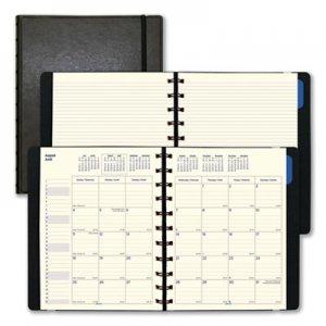Filofax Monthly Planner, 10 3/4 x 8 1/2, Black, 2019-2020 REDC1811001 C1811001