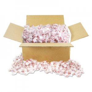 Office Snax Candy Tubs, Starlight Peppermints, Individually Wrapped, 10 lb Value Size Box OFX00602 00602