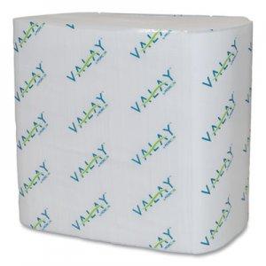 Morcon Paper Dispenser Napkins, Interfolded, 2-Ply, 6.5 x 8.25, White, 500/Pack, 12 Packs/Carton MOR4500VN 4500VN