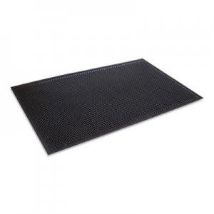 Crown Crown-Tred Indoor/Outdoor Scraper Mat, Rubber, 43.75 x 66.75, Black CWNTD0046BK TD 0046BK