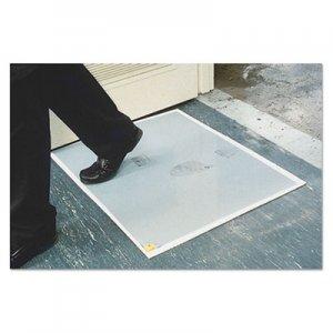 Crown Walk-N-Clean Dirt Grabber Mat 60-Sheet Refill Pad, 30 x 24, Gray CWNWCRPLPAD WC RPLPAD