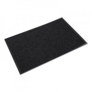 Crown Needle-Rib Wiper/Scraper Mat, Polypropylene, 48 x 72, Charcoal CWNNR0046CH NR 0046CH