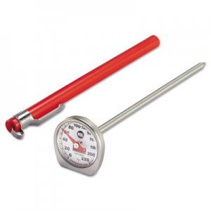 Rubbermaid Commercial Dishwasher-Safe Industrial-Grade Analog Pocket Thermometer, 0 F to 220 F PELTHP220DS FGTHP220DS