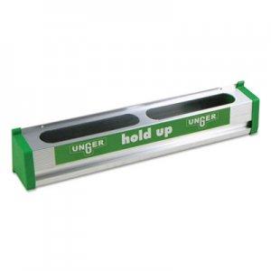 "Unger Hold Up Aluminum Tool Rack, 18"", Aluminum/Green UNGHU45 HU450"