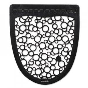 Boardwalk Urinal Mat 2.0, Rubber, 17 1/2 x 20, Black/White, 6/Carton BWKUMBW