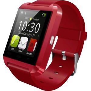 Worryfree Gadgets Bluetooth Smart Watch SMARTWATCH-RED