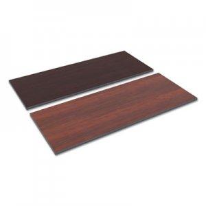 Alera Reversible Laminate Table Top, Rectangular, 59 1/2w x 23 5/8,Med Cherry/Mahogany ALETT6024CM